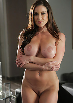 Kendra Lust Stripping Nude